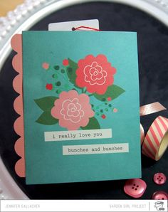 Make It Meaningful #4: Love You Mini Album by JenGallacher @2peasinabucket