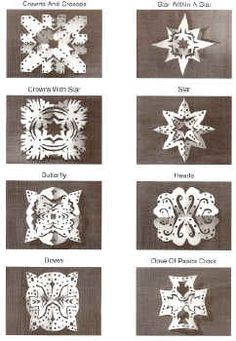Chrismon Snowflakes - Pictures - Christmas Ornaments - Decorations - Chrismons