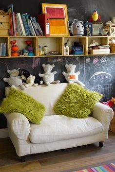 Encourage Creativity- Kids Bedroom Ideas - Children's Room Decorating (EasyLiving.co.uk)