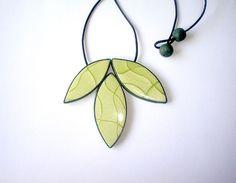 Leaf necklace | Flickr - Photo Sharing!