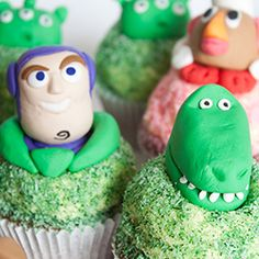 Toy Story Cupcakes for kids birthday ideas