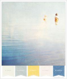 color palettes, color schemes, color combos, blue, brand color