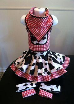 NATIONAL PAGEANT DRESS OOC WESTERN WEAR CASUAL WEAR  18mos-3T #Handmade #DressyEverydayHoliday