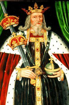 My 20th great grandfather twice. King Edward III