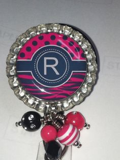 Bottlecap Badge Holder
