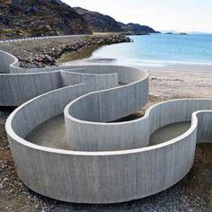 Havøysund Tourist Route by  Reiulf Ramstad Architects