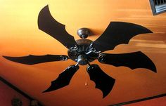 Bat Wing Shaped Ceiling Fan Blades - OhGizmo! #Technology