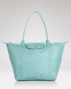 Longchamp Tote - Le Pliage Leather Large | Bloomingdale's