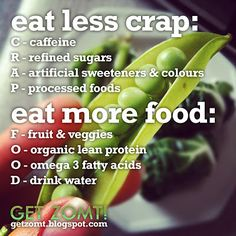 eat more food
