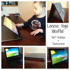 Lenovo Yoga IdeaPad - with Windows 8 - Perfect for families.
