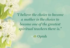 ~ Oprah