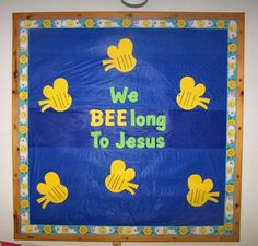 Sunday School Bulletin Boards