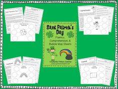 Classroom Freebies: St. Patrick's Day Fluency Packet