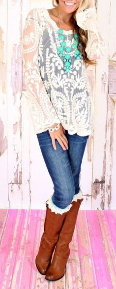 LOVE this look! Would you rock it?? #style #fashion #trendy #trends