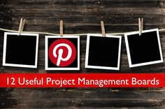 12 Useful Project Management Boards on Pinterest