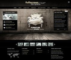 Fullscreen Wordpress Theme with 3 different live demos. Click & Check #wordpress #webdesign repinned by www.BlickeDeeler.de