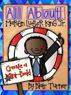 {FREE!} Martin Luther King, Jr.: Create a Mini-Book