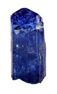 Zoisite, Tanzania...not blue glass but blue and see through :)