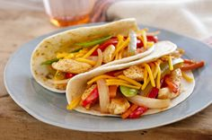 Weeknight Chicken Fajitas Recipe - Kraft Recipes