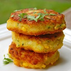 Southern Foods ~ corn fritters