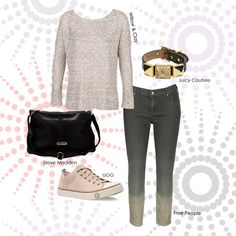 We just love this sporty look featuring the UGG Evera shoe! This shoe and outfit is perfect for walking around town! The UGG Evera comes in different colors as well! Which color is your favorite?