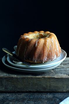 Lemon Poppy Seed Bundt Cake #recipe
