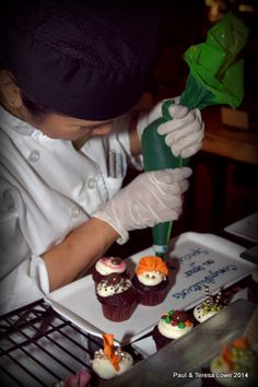 The Pastry Chef's take pride in their delectable sweet treats!