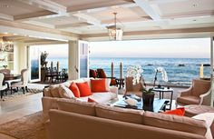 """The homes and buildings of southern California - """"Riding the Waves: Beach House Architecture""""  Shutters on the Beach 