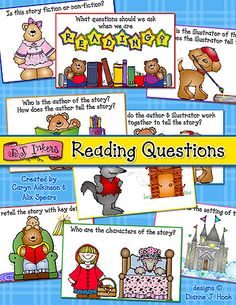Hooray! You can SAVE 20% on our 'Reading Questions' printable collection when you download through August 6, 2014. Perfect to use as a bulletin board, centers station, reading flip book or classroom discussion!