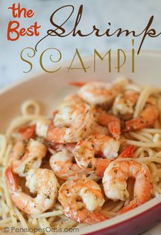 The Best Shrimp Scampi