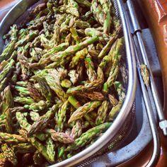 Fresh asparagus tips......