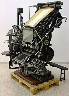 """""""Imagine a gas powered desktop publishing system that weighed several tons, leaked oil, had thousands of moving parts, its own boiler full of molten lead and a keyboard where you couldn't see . . ."""