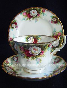 Royal Albert 'Celebration' English Bone China