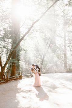 fairytale elopement, photo by YourDreamPhoto http://ruffledblog.com/fairytale-california-elopement #weddingportrait