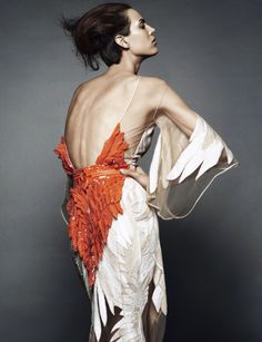 Aymeline Valade wearing Givenchy Haute Couture SS 2011