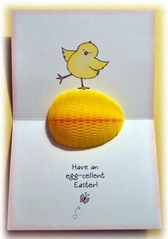 Inky Antics : HoneyPOP - EASTER CHICK CLEAR STAMP SET
