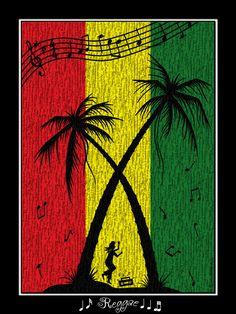 reggae ☮ Rasta~ psychedelic, hippie art, revolution OBEY style, street graffiti, illustration and design. ☮
