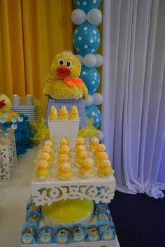 Ducky Duck Baby Shower Ideas
