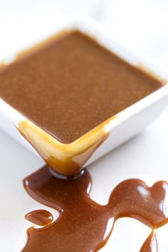Double Coconut Salted Caramel Sauce | Get Inspired Everyday!