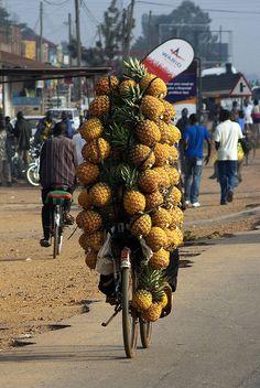 Pineapple bike - Uganda