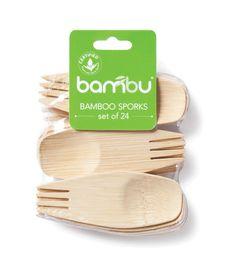 Bambu veneerware sporks