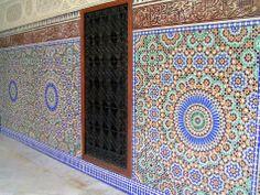 Detailing on walls