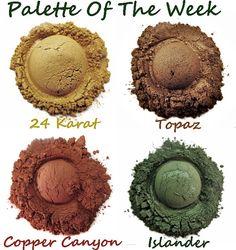 Mineral Eye Shadow Quad Palette Of The Week by MyBeautyAddiction