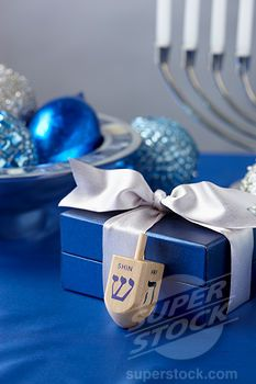 Can you have too much blue for Hanukkah?