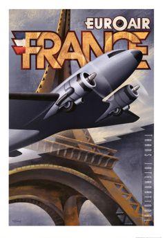 Vintage Travel France