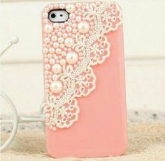 Pearl & Lace Phone Case