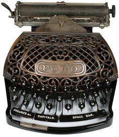 1895 Ford typewriter