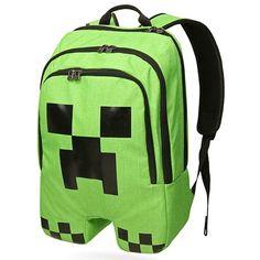 Minecraft bookbag fo