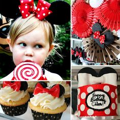 Minnie Mouse Birthday Party Ideas from The Hunted Interior