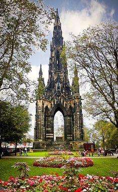 Scott Monument - Edinburgh, Scotland